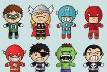 Superheroes  / For my boy who loves superheroes.  / by Tara Smith