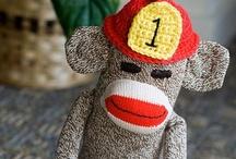 Sock Monkey Deluge / Sock Monkeys!