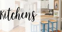 Kitchens / All things kitchen including DIY and decor! #kitchendecor #kitchen #DIY