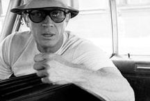 Steve McQueen / Steve McQueen embodies a manly aesthetic that is attractive and sexy