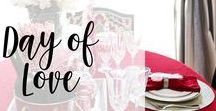 Day of Love / Valentines ideas, crafts and DIYs to help celebrate the day of love! #valentines #holidays #homedecor #DIY #crafts