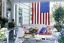 Front Porch Charm / Celebrating the peaceful neighborliness of the Southern front porch.