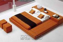 Upholstered Bedroom / Designer, Modern and Contemporary Upholstered Beds