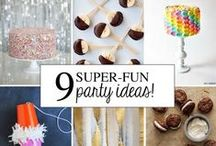 let's party / party ideas for all ages, including set-ups and food / by Kate Barlowe