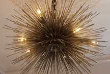 my obsession with chandeliers