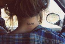 tattoos / by Jamie Lee