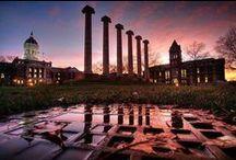 "Columbia, MO: The Athens of Missouri / This college town is the largest city in Mid-Missouri. Get ready to hear the popular nicknames, ""Como"" and ""Mizzou!"" Over half of Columbians possess a bachelor's degree and over a quarter hold graduate degrees, making it the 13th most highly educated municipality in the U.S. Welcome to a fun community full of local pride, charm and character!! / by House of Brokers Realty, Inc."