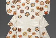 Kimono Fabric / This is a tribute to the beauty of the motives and compositions of the Japanese Kimono and its enigmatic obi which often delivers the magic of the the ensemble [I would like to learn the 'rules' of the obi as it seems like a key]. The board is centred on the motives and not so much the illustrious kimono itselt. Many other objects may sneak in as the subject evolves. / by Pia Moeller