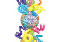 Ideas - birthday balloons / Thank you for checking my Idea Book filled with inspiring birthday decor created by balloon friends around the globe.  Let me create something similar for your event!