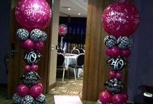 Ideas - balloon columns / Thank you for checking my Idea Book filled with inspiring columns created by balloon friends around the globe.  Let me create something similar for your event!