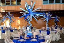 Ideas - table decor and balloon centerpieces / Thank you for checking my Idea Book filled with inspiring table  decor created by balloon friends around the globe.  Let me create something similar for your event!