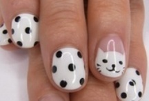 Pretty Nails! / One day, I will paint my nails and it will come out like they do on Pinterest.