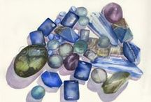Calm/Centered -  Bodacious Creations / Our world can be chaotic and fast paced, if you're feeling caught up in that whirlwind, allow these stones to bring you back to center.