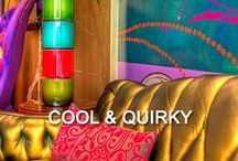 - Cool & Quirky - / Check out these wonderfully quirky rooms. Fancy a holiday with a difference?