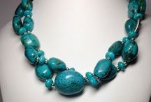 Beautiful things in Teal and blues / Bold Bodacious Jewelry and other beautiful things in shakes of blue and teal