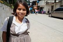 The Scholars Program / Our scholarship program seeks to provide 60 students with a quality education through private schools, high schools and universities in Guatemala City. The average annual cost of educating each of these students is $1,800 or $150 a month. These costs include tuition, uniforms, books and school supplies.