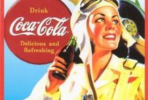 Have a Coke and a Smile / The Real Thing--Coca Cola adds life...Have a Coke and a Smile / by Kim Constantine