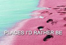 - Places I'd Rather Be - / Browse this beautiful board full of tempting destinations and dream about being somewhere else.