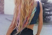 Colored hair / Colored hairstyles