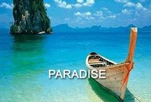 - Paradise - / Clear waters, white sand, sun in the sky and not a cloud in the sky. The beach is our favourite place.