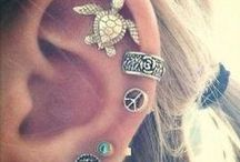 piercings and jewelry / by Jordain Amanda