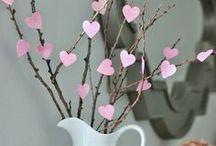 Valentine's Day  - Saint Valentin / Si vous cherchez des idées recettes et décoration pour la Saint Valentin, venez voir ce tableau.   If you are looking for recipes and decoration ideas for Valentin's day, you would find them here.