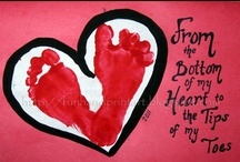 Kids Art - Handprint Art and Homemade Gifts / by Amanda HockeyLove
