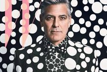George / George Clooney. THE evidence that older men are even more attractive than younger men. That's my humble opinion. / by Ingrid de Zwart