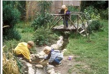 Gardening / Kids - Water / Ohhhhh how I want some water and bubbling in the yard!