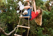 Kids, Playscapes and GETTING OUTSIDE!!!!!! / prettier, cheaper, more natural - win win win! / by Amanda HockeyLove