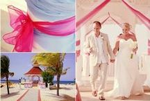 Caribbean Weddings / Weddings held in our resorts in the Caribbean and details and ideas to make your destination wedding, perfect.