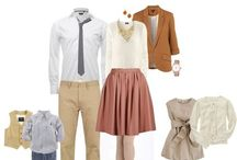 What To Wear- Family / Looking for ideas of what to wear for your family portrait session