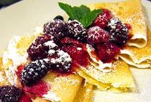 FrenchToast/Crepes/Pancakes/Waffles/Cereals / Sweet treats for the morning!  Repin as many as you like....the whole point of this is to share!  / by Ann Levin