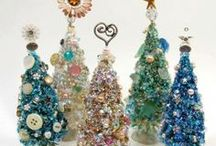 christmas tree crafts / by Shelly Krueger