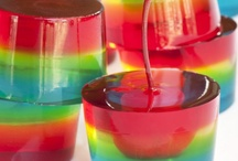 Jello Shots & Alcoholic Popsicles/Fruit/Candy/Food / Chilled and Frozen fruity treats....with a kick! Repin as many as you like....the whole point of this is to share!  / by Ann Levin