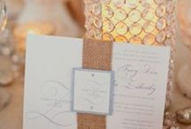 Wedding Stationery Ideas / Here are a few fun stationery samples we found! / by Agape Planning