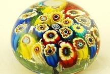 Art Glass Paperweights/Marbles/Eggs 2 / Repin as many as you like....the whole point of this is to share!  / by Ann Levin