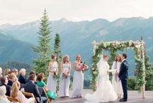 Inspiring Aspen Weddings / Some of our favorite Aspen weddings.