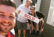 "Sold #SELLfie / RE/MAX agents help home buyers and sellers every day, and a successful sale is one of the best moments of the process!   #SELLfies are celebratory shots of happy RE/MAX clients and their agents from the ""selfie"" perspective in front of their new home or after a successful sale!    Agents: Check out tips below for how to participate in the #SELLfie phenomenon!"