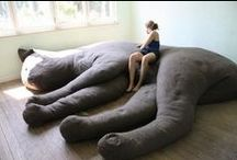 giant stuffed animals / by horsesandanna