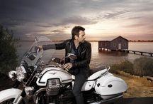 "Moto Guzzi & Ewan McGregor / Ewan McGregor is the testimonial for the new Moto Guzzi California 1400. The photos of the new Ad Campaign ""My Bike, My Pride"" are taken in western Australia. Moreover Ewan is a long-lasting Moto Guzzi lover."