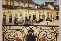Dijon / Venez découvrir quelques images et emblèmes gastronomiques de la ville de Dijon en France.  Come and see pictures of the town of Dijon (Burgundy, France) and also local recipes.