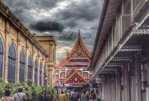 Thailande / Thailand / Voyage en Thailande au pays de la gastronomie. Découvertes pittoresques et culinaires / Travel to Thailand : tourism, food and so on.