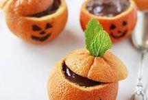 Halloween / Recettes et décorations de tables pour Halloween / Halloween recipes and sweet tables