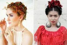Maquiagens e Penteados de Halloween  |  Make Halloween / Makes e penteados para você arrasar no Halloween