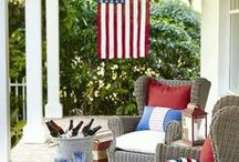 4th of July Home / Red, white and blue from the skies to the pool! Enjoy these patriotic ways to celebrate independence day in your home.