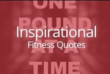 Inspirational Fitness Quotes / We all need a little inspiration to get us through the day.  / by fitmark