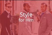 Style for Him / Bridging the gap between fitness and style.