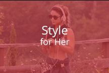 Style for Her / It's gym time. Are you in style?