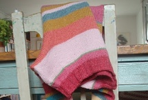 "Knitted color / ""If there where more knitters the world would be a warmer place"" - Danielle Bourgeois"